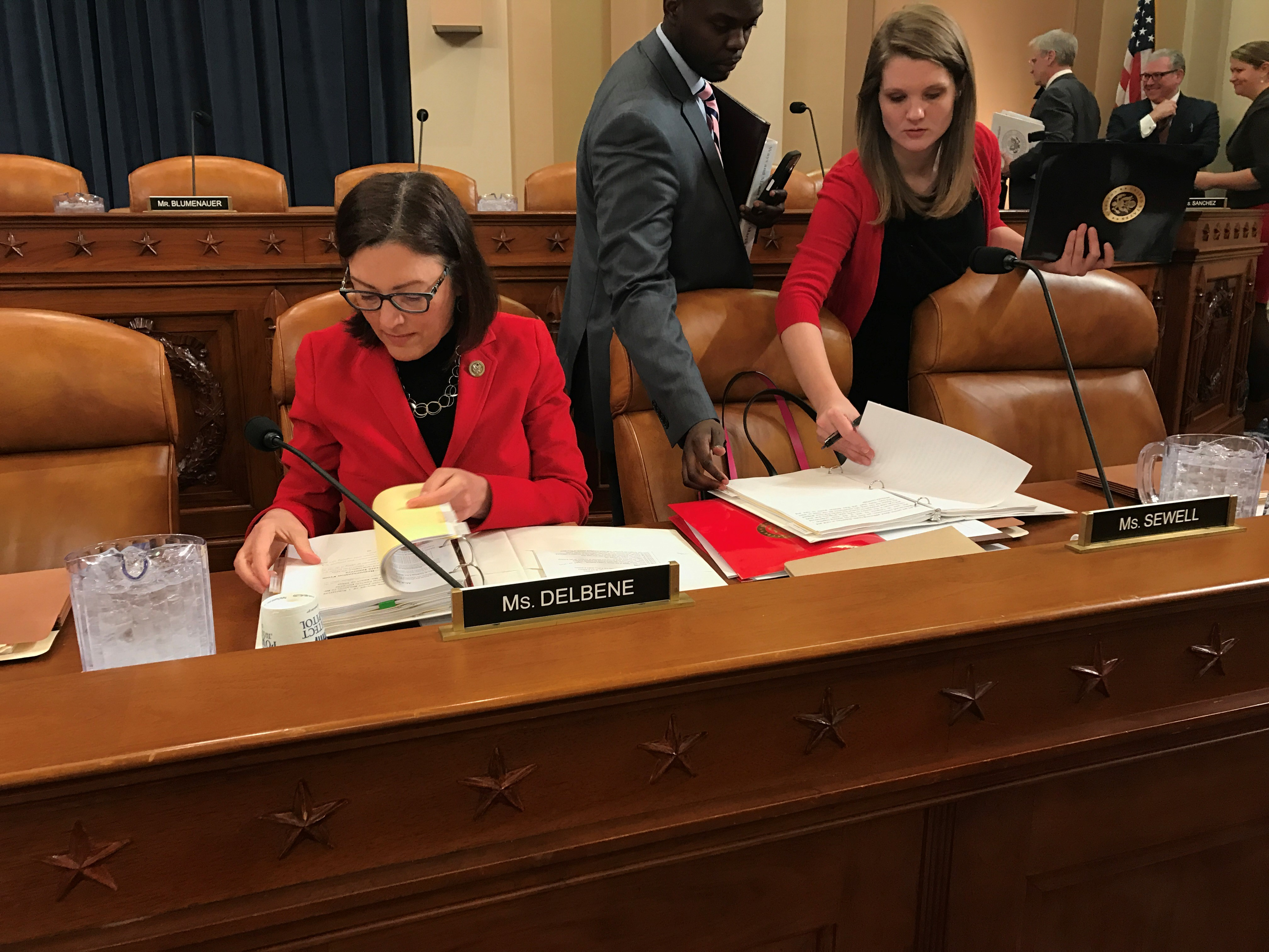 Congresswoman Suzan DelBene at a committee hearing